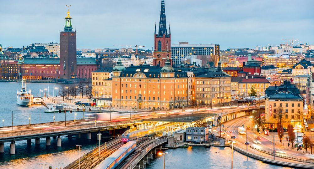 Med anledning av dådet i Stockholm city