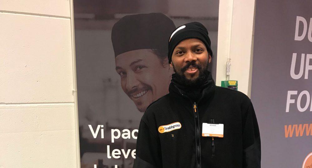 Ahmeds karriär tog fart med Storesupport