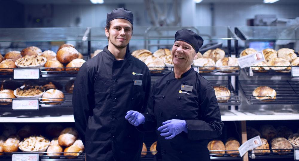 Att jobba som bagare eller konditor i butik