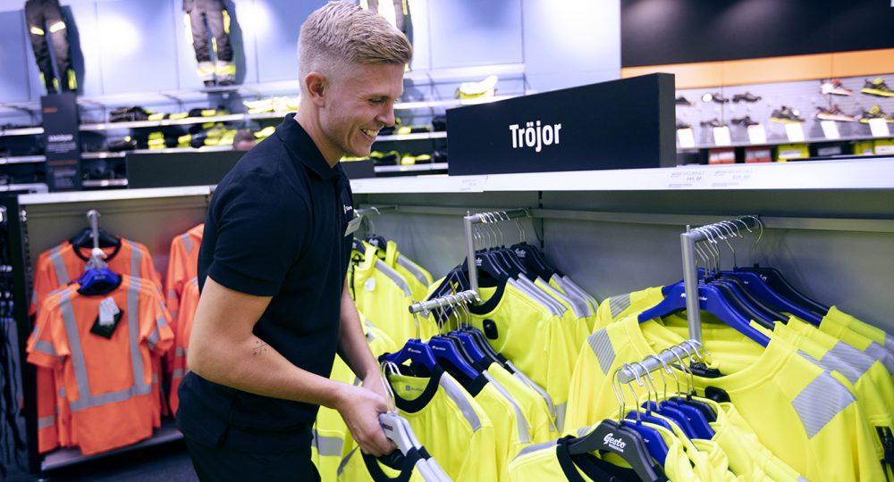 Att jobba som butikssäljare