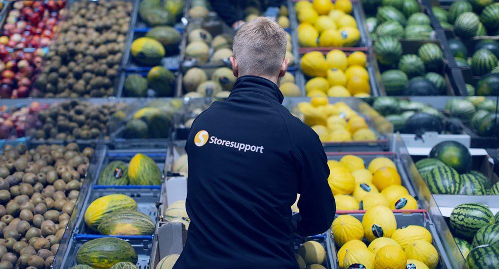 Att jobba med frukt och grönt