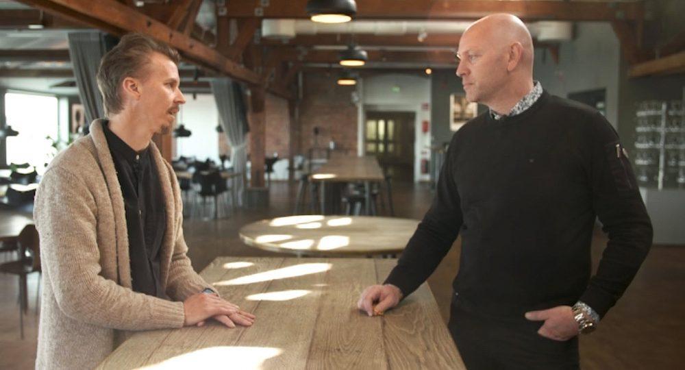 VD Peter möter krögare Paul Svensson från Save the Chefs