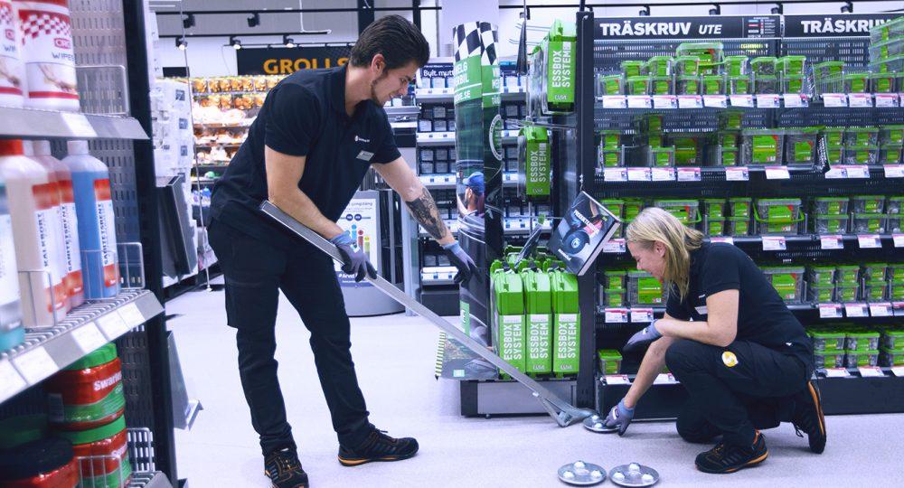 Att jobba med butiksutveckling och butiksinredning