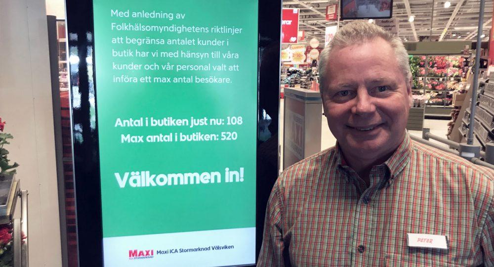 Storesupport och Store Display samarbetar mot butiksträngsel
