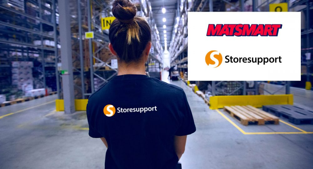 Matsmart anlitar Storesupport i kampen mot matsvinnet