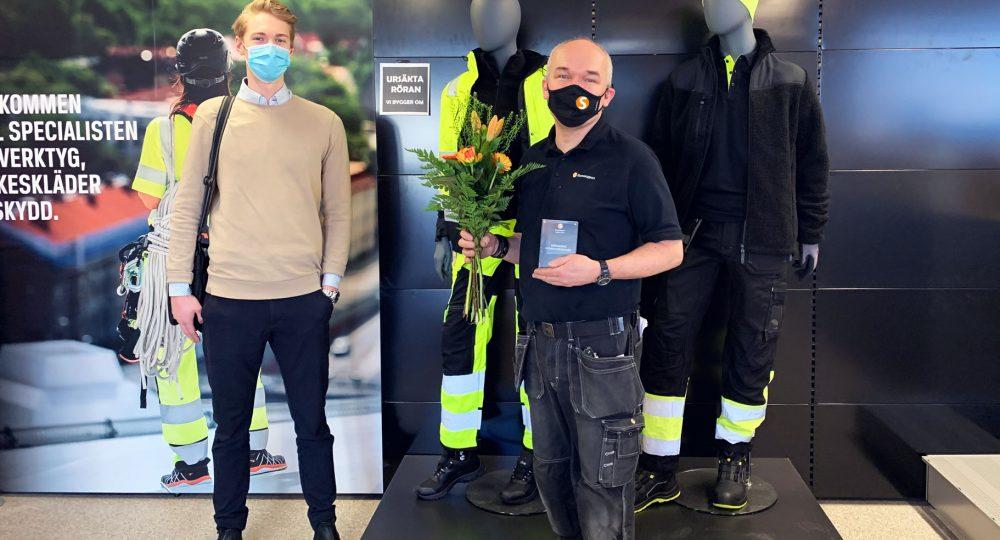 Jan Rademaekers är Månadens Storesupportare februari!